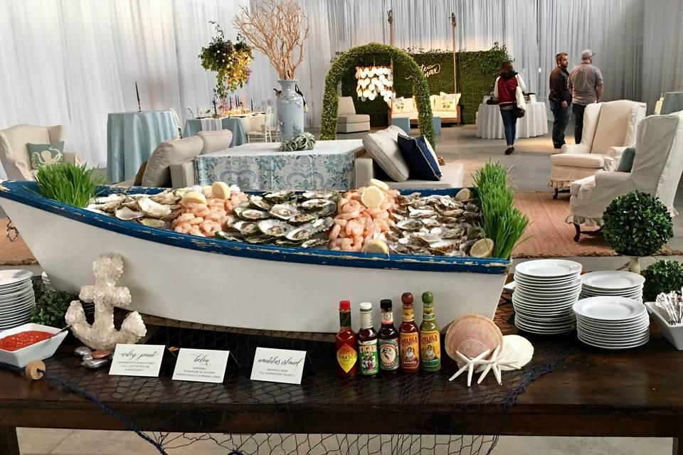 Themed buffet
