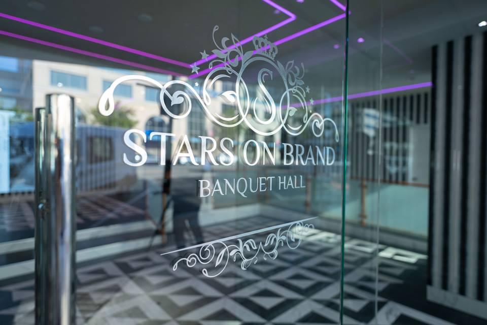 Stars On Brand entrance