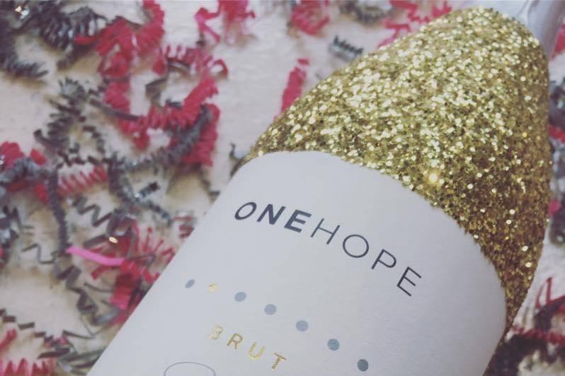 Glitter bottle sparkling brut