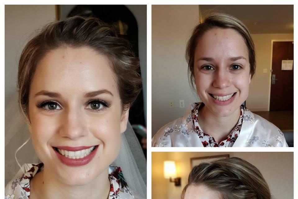 Jackie Andrews, Makeup Artist