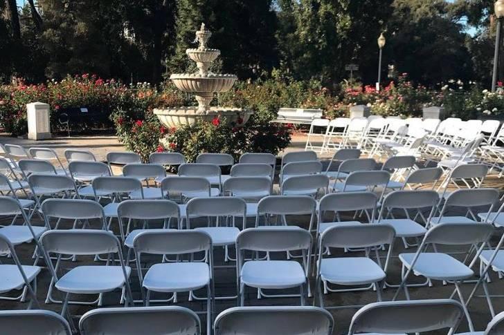 Ceremony display