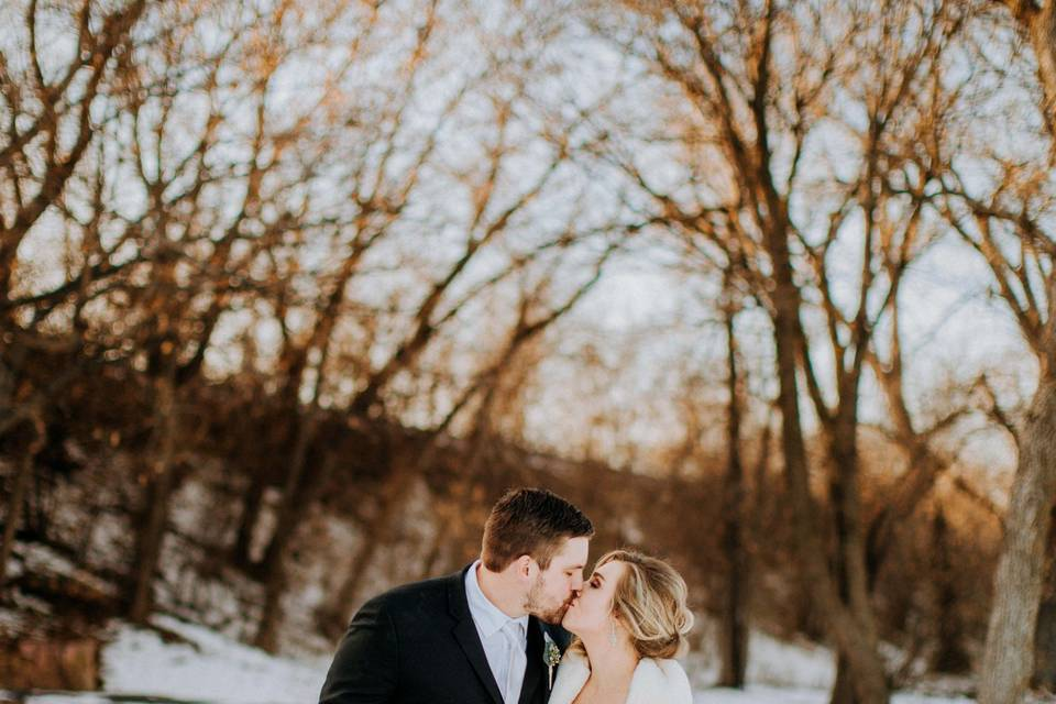 Love in the snow - Candice Marie Photography