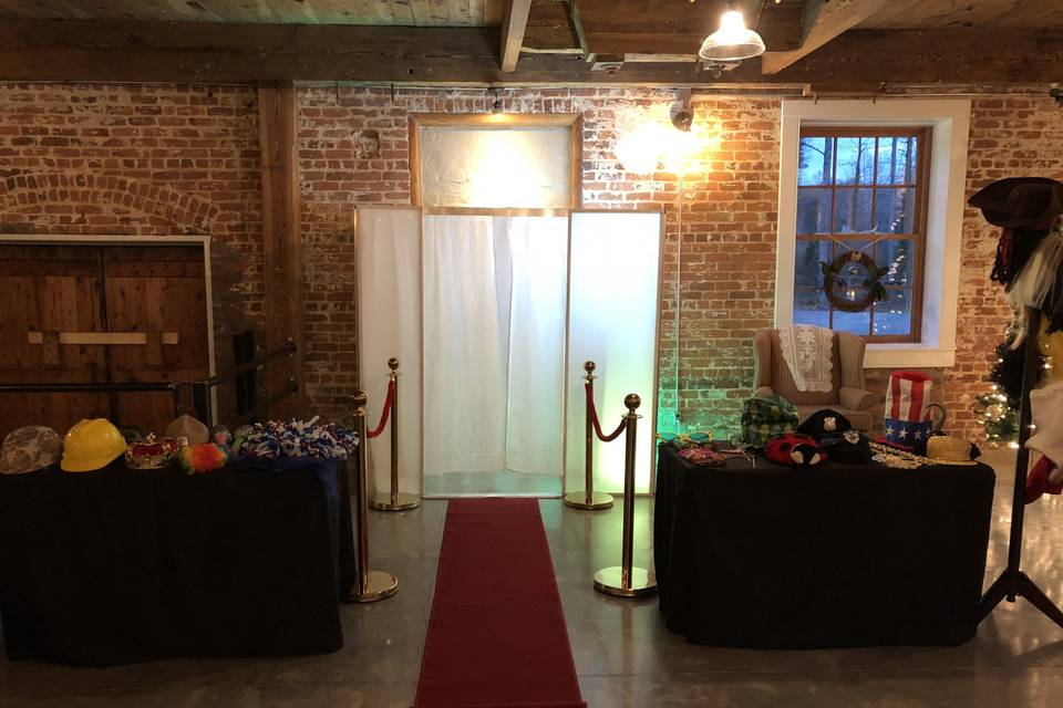 One of the photo booths