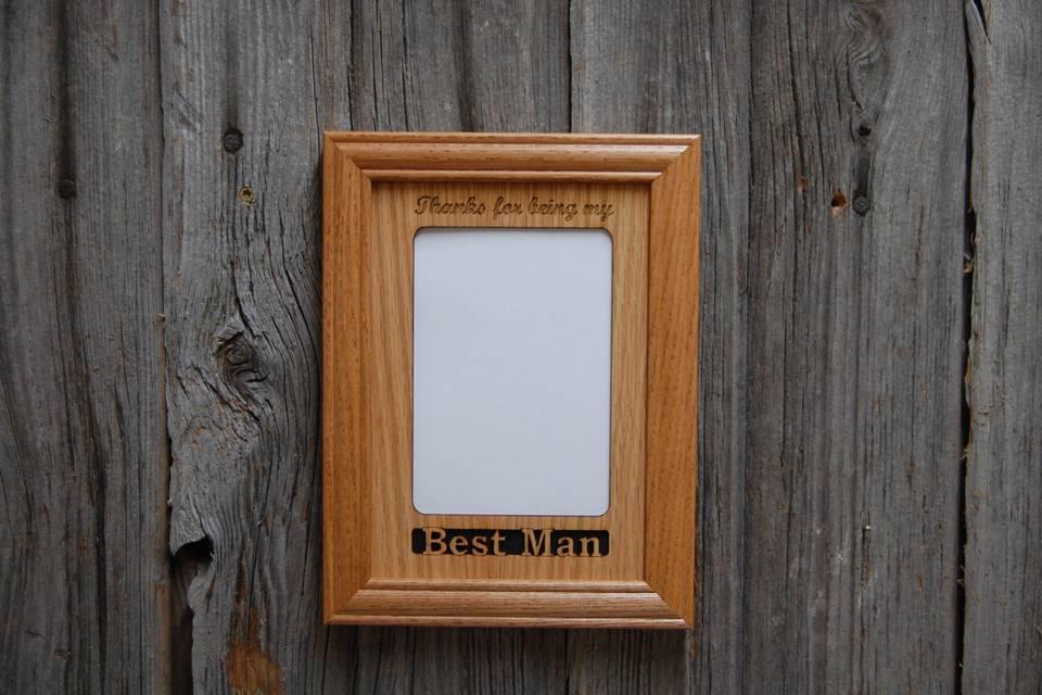 Best man frame
