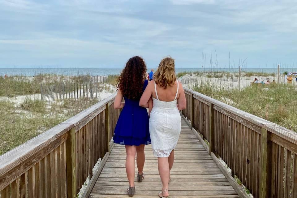 Mother Daughter Boardwalk