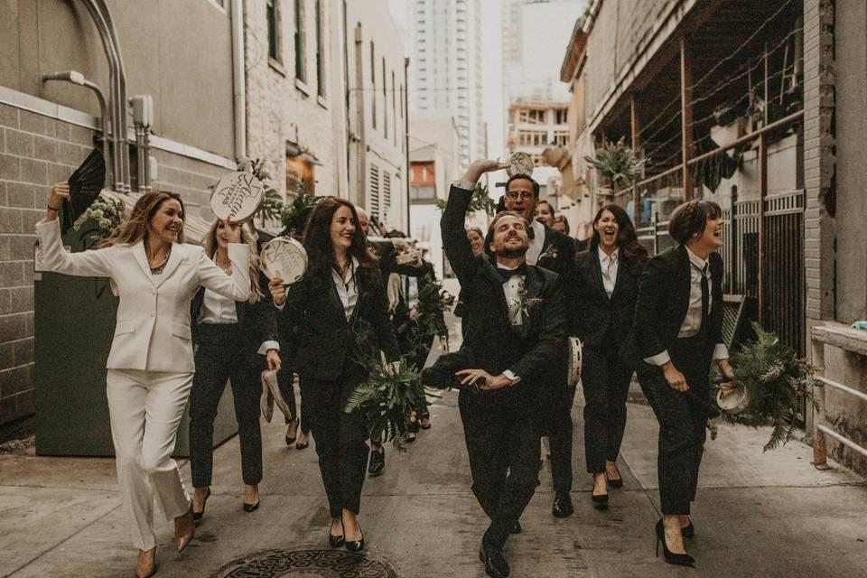 Wedding day fun - Nikk Nguyen Photo