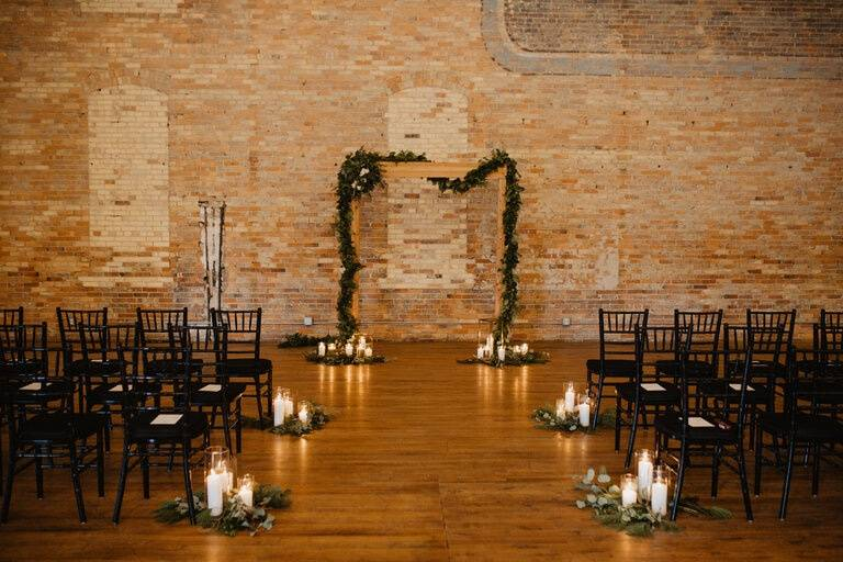 Ceremony Arch & Aisle