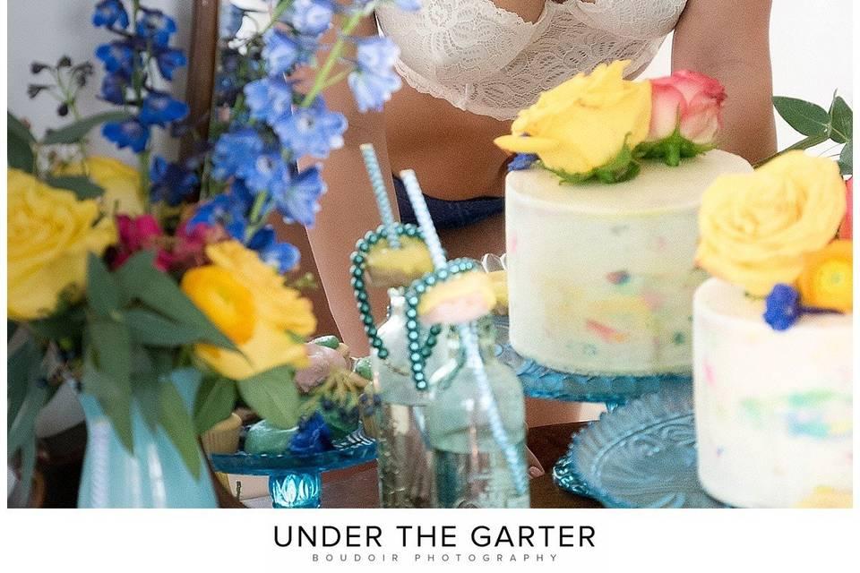 Under the Garter   Luxury Boudoir Photography