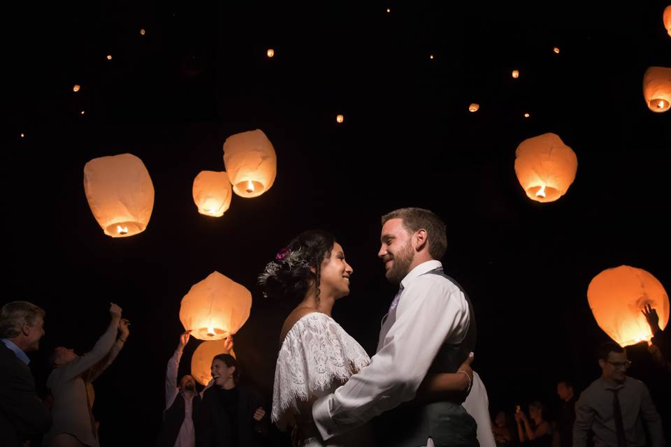 Wedding- Lantern Ceremony