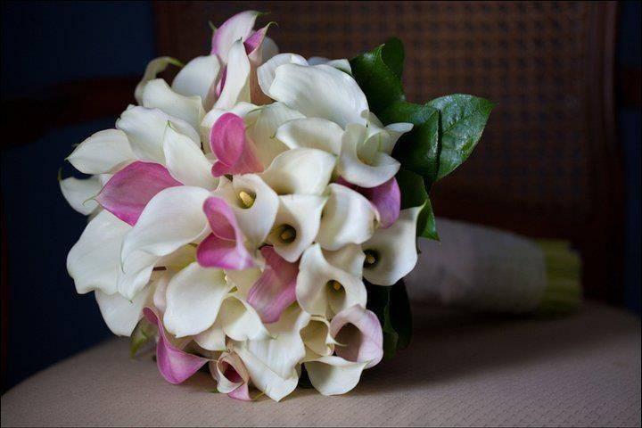 calla Lilly bridal bouquet