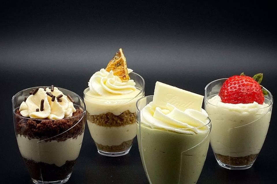 Mini dessert assortment