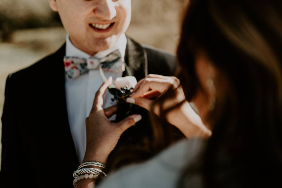 Groom Boutonneire