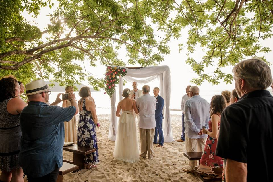 Moments at the altar