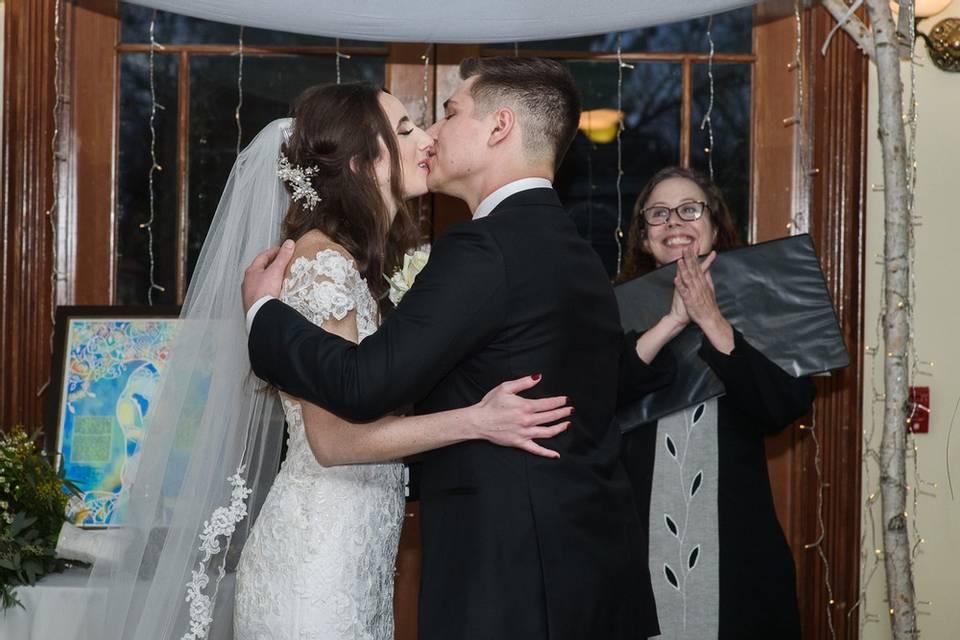 Rachel M last kiss!