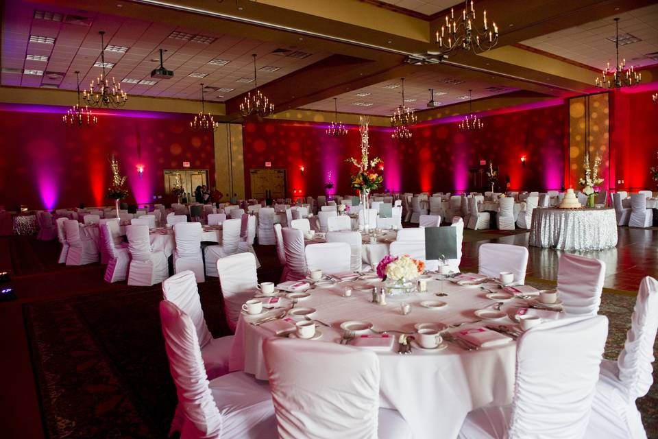The Wilderness ballroom.