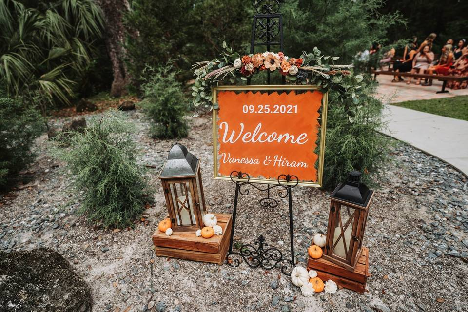 Shabby Chic Wedding Barn