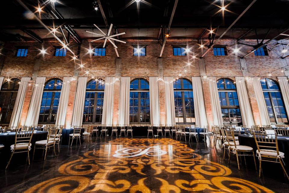 Themed image dance floor