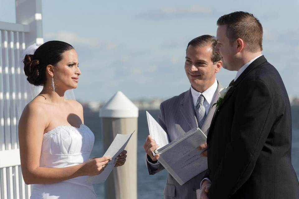 Reciting of vows