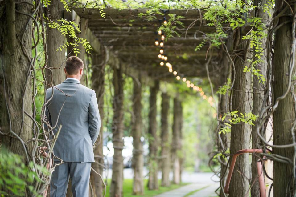 The groom | Photo by Kaitlyn Ferrs