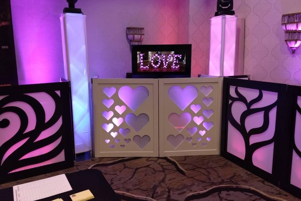 Heart DJ Booth