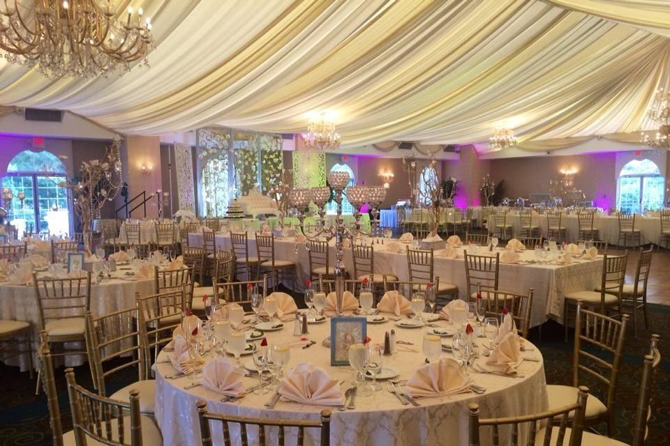 Riverside Wedding Reception