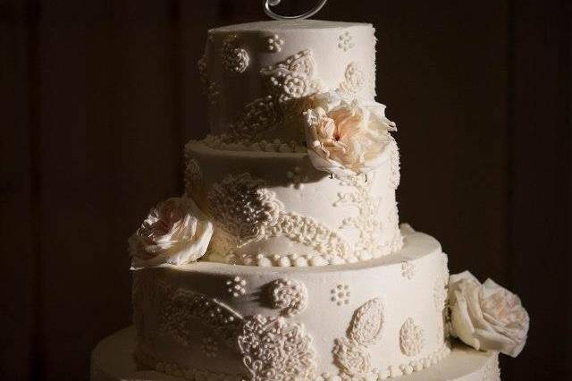 Four tier cake