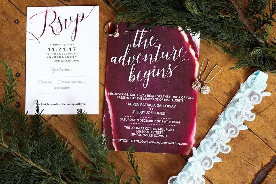 Wedding Details | Simpsonville SC