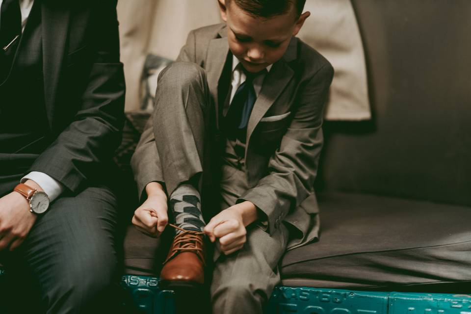 Tyin' Shoes