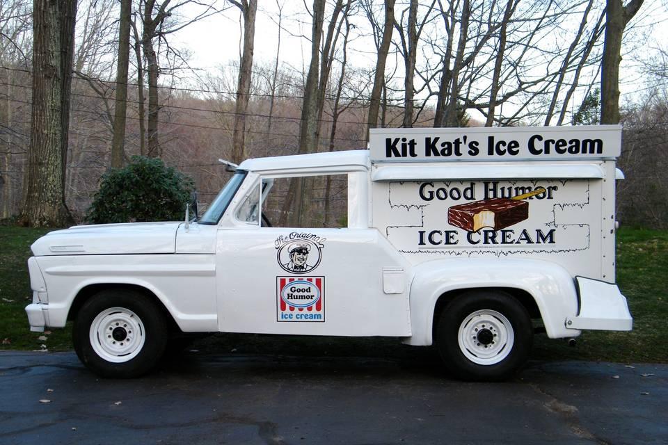 Kit Kats Ice Cream Truck
