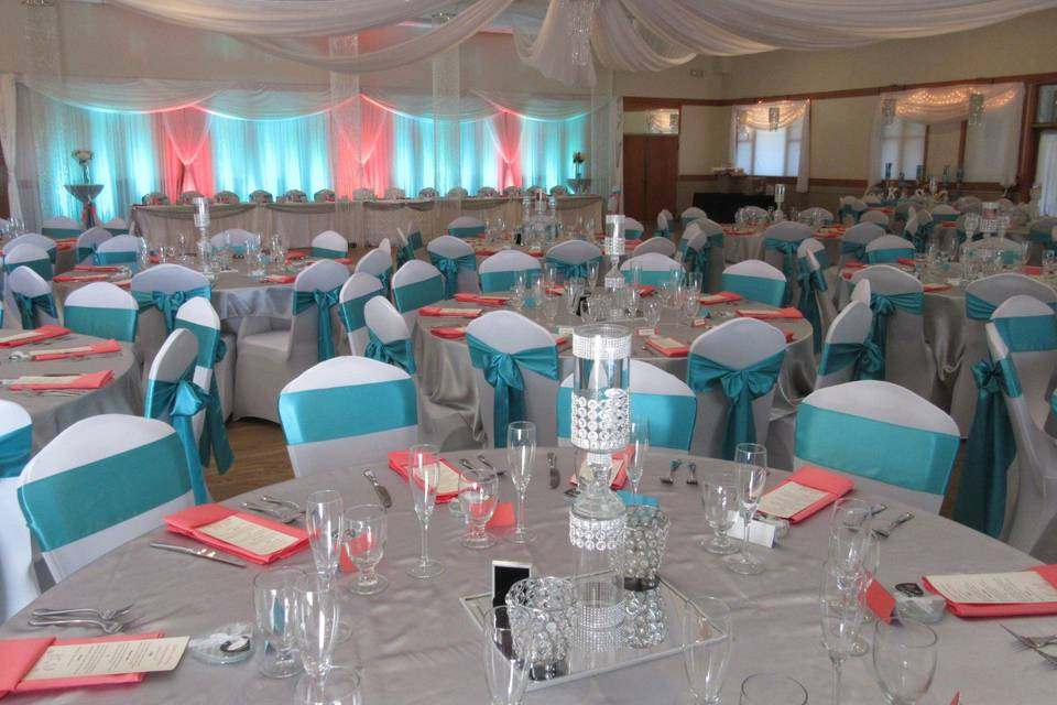 Indoor Banquet Hall