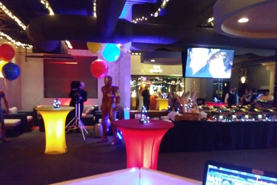 70th Birthday Party Event