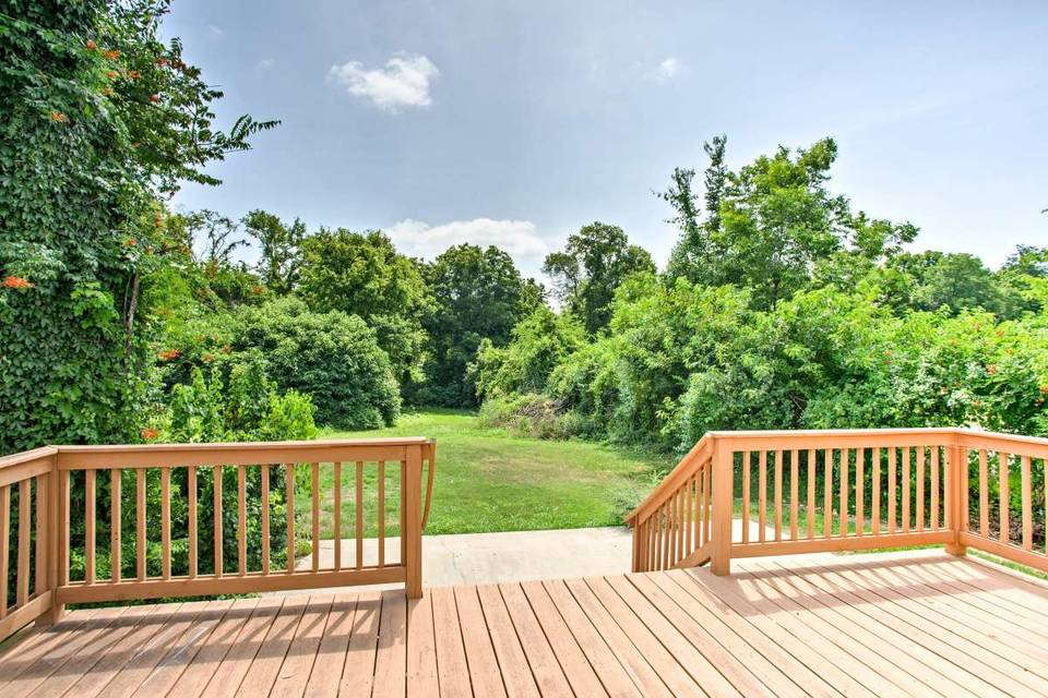 Deck space