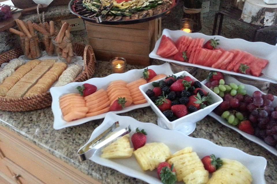 Wedding food