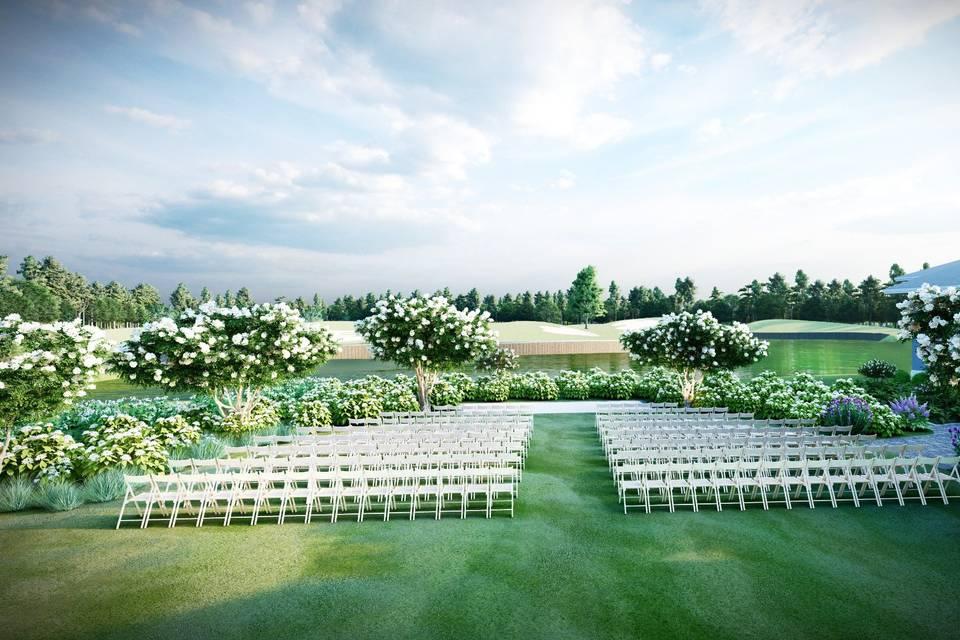 Private Event Lawn