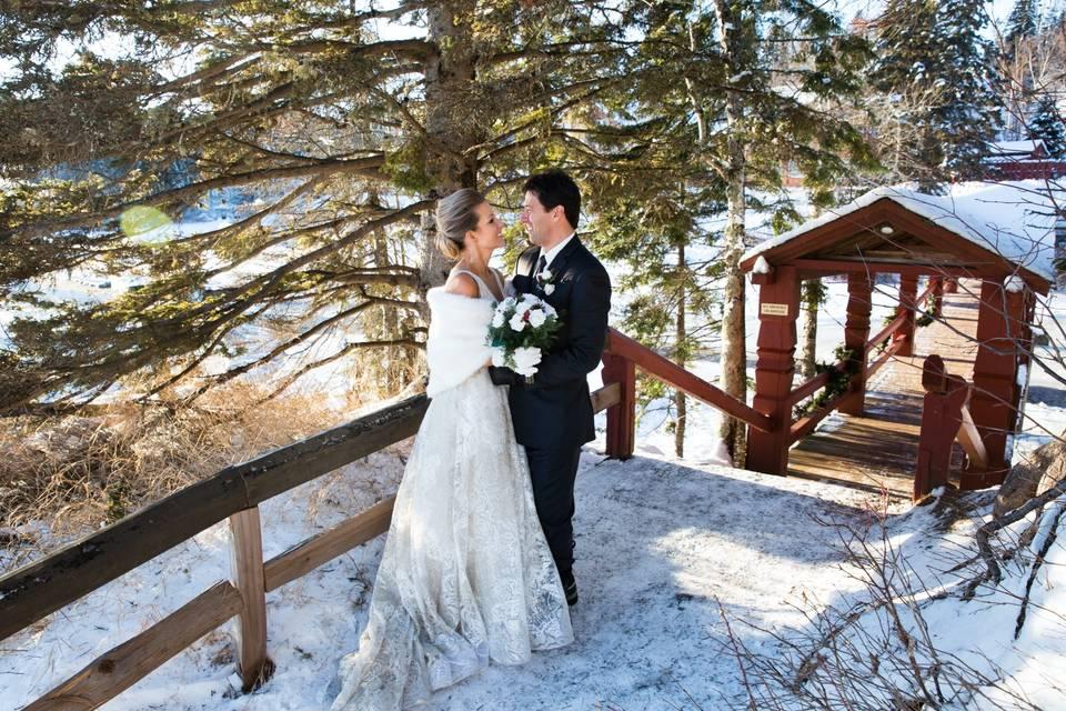 Lutsen Winter Wedding