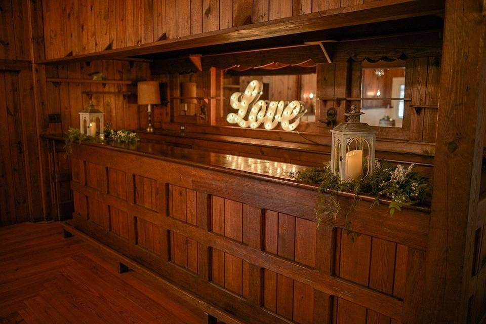Charming bar