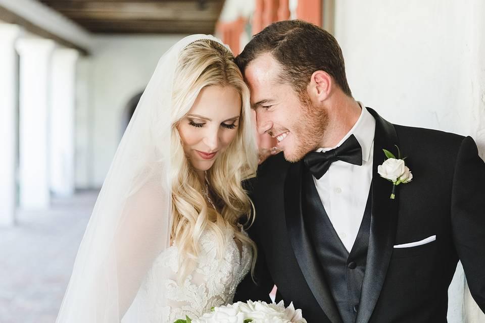 Couple's portrait - Waller Weddings