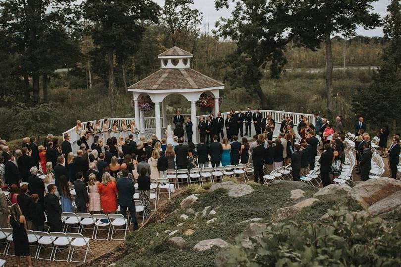 Wedding ceremony day