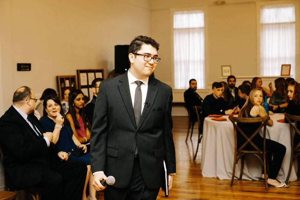 Savio Wedding Officiant