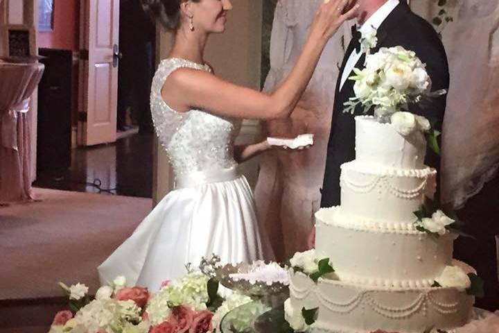 Tasting the cake