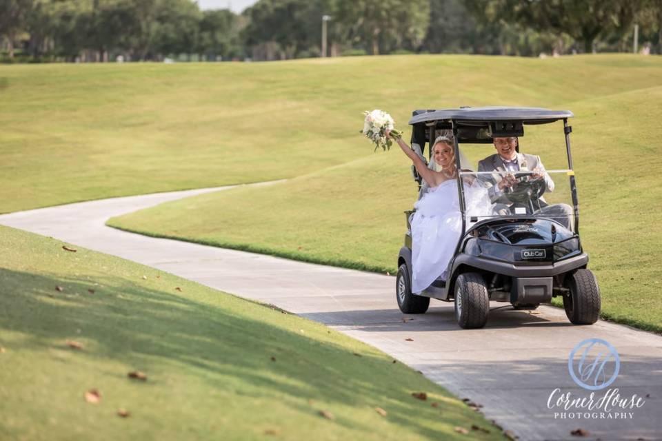 Golf Cart Access