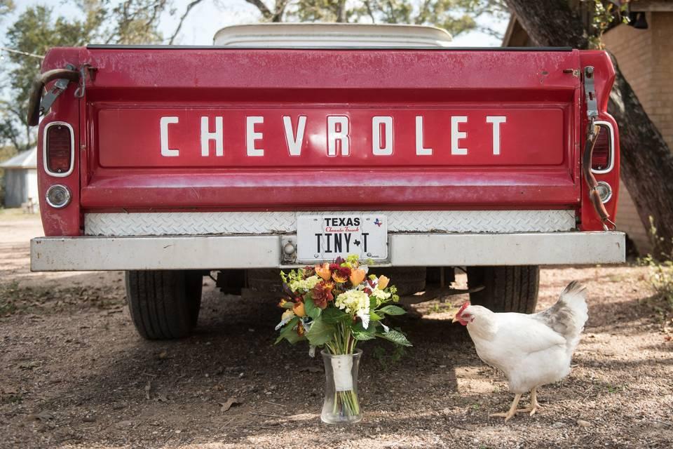 Wedding day Chevrolet