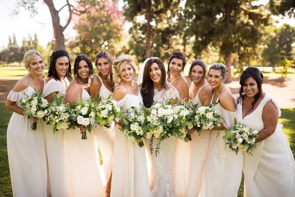 Great picture spots/bridemaids