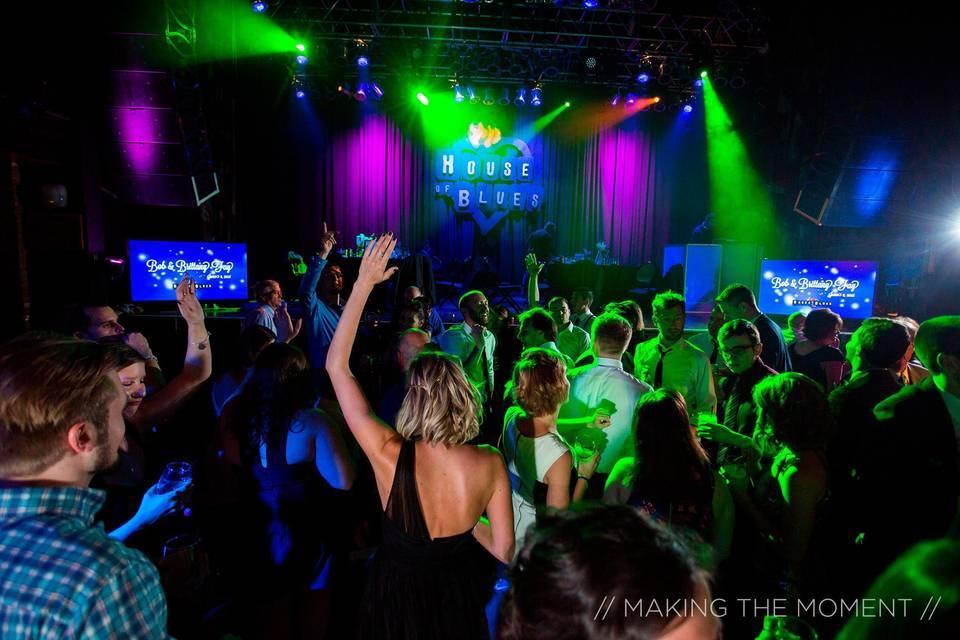 Music Hall, Reception/Dance