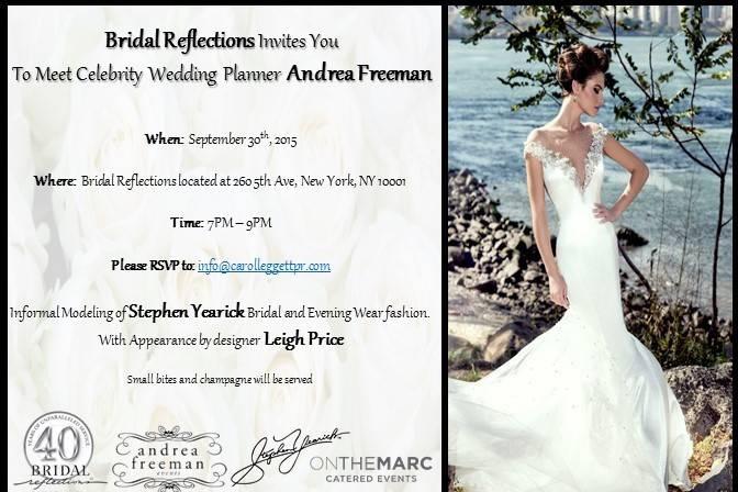 Andrea Freeman Events