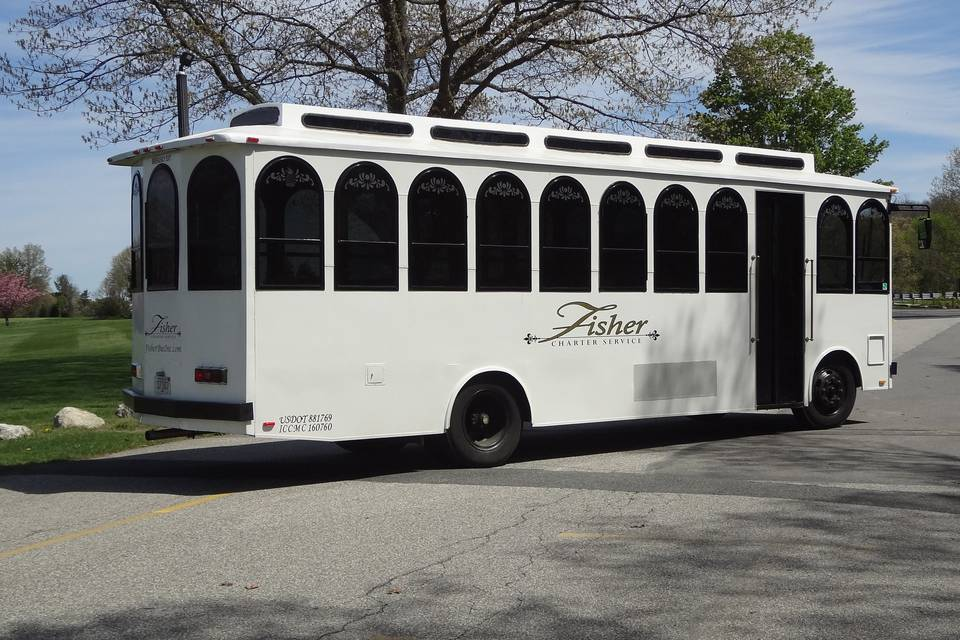 35 pass. Trolley