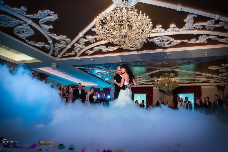 Dancing on the clouds in the Grand Ballroom
