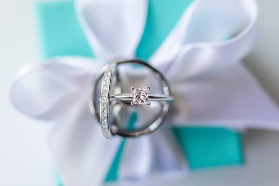 The wedding rings - Ashlyn Coleal Photography