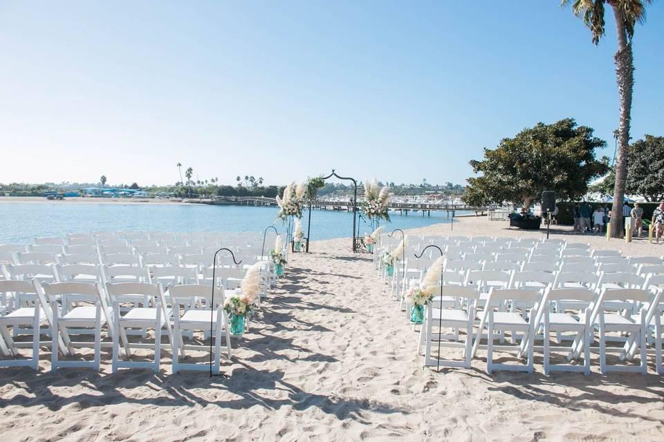 Beach Front Ceremony