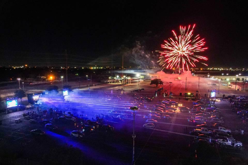 Fireworks Droan